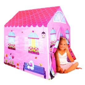 Rózsaszín házikó játszósátor Itt egy ajánlat található, a bővebben gombra kattintva, további információkat talál a termékről.