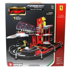 Bburago Ferrari Racing garázs 1:43