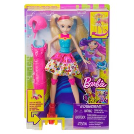 Barbie: Videojáték kaland görkoris Barbie - 29 cm