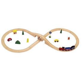 Fa vonat 29 darabos készlet