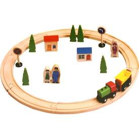 Fa 25 darabos vonatkészlet