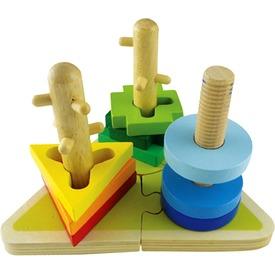 Tekerős fa formakirakó Itt egy ajánlat található, a bővebben gombra kattintva, további információkat talál a termékről.