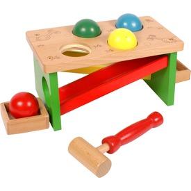 Kalapácsos fa játék labdákkal Itt egy ajánlat található, a bővebben gombra kattintva, további információkat talál a termékről.
