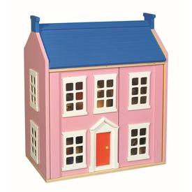Fa babaház bútorokkal - rózsaszín Itt egy ajánlat található, a bővebben gombra kattintva, további információkat talál a termékről.