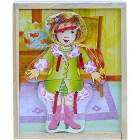 Fa öltözető baba kirakó Itt egy ajánlat található, a bővebben gombra kattintva, további információkat talál a termékről.