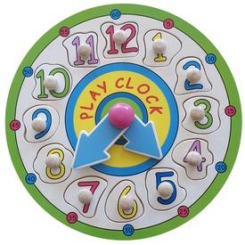 Óra fa 12 darabos puzzle