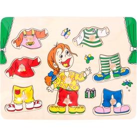Fa öltöztető kislány kirakó Itt egy ajánlat található, a bővebben gombra kattintva, további információkat talál a termékről.