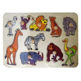 Afrikai állatok 10 darabos fa puzzle Itt egy ajánlat található, a bővebben gombra kattintva, további információkat talál a termékről.