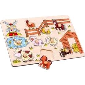 Tanya 9 darabos fa puzzle