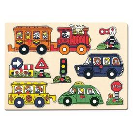 Járművek 8 darabos fa puzzle Itt egy ajánlat található, a bővebben gombra kattintva, további információkat talál a termékről.