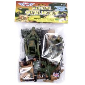 Katonai járműkészlet - többféle Itt egy ajánlat található, a bővebben gombra kattintva, további információkat talál a termékről.
