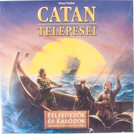 Catan telepesei: Felfedezők és kalózok kiegészítő Itt egy ajánlat található, a bővebben gombra kattintva, további információkat talál a termékről.