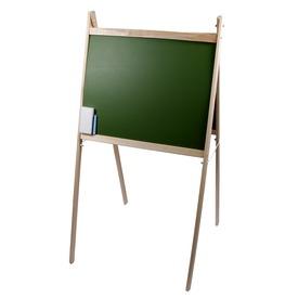 Állványos fa mágneses rajztábla - 100 cm
