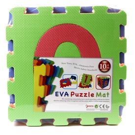Számok 10 darabos habszivacs szőnyeg puzzle