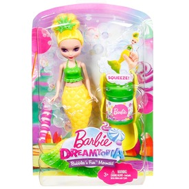 Barbie Dreamtopia buborékfújó mini sellők DVM