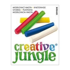 Creative Jungle színes gyurma - 100 gramm