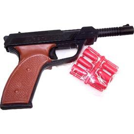 Kommandós játék pisztoly gumilövedékkel