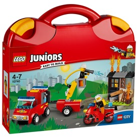 LEGO® Juniors Tűzoltó járőr játékbőrönd 10740 Itt egy ajánlat található, a bővebben gombra kattintva, további információkat talál a termékről.