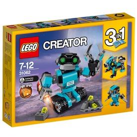LEGO® Creator Robot felfedező 31062 Itt egy ajánlat található, a bővebben gombra kattintva, további információkat talál a termékről.