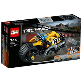 LEGO Technic Kaszkadőr motor 42058 Itt egy ajánlat található, a bővebben gombra kattintva, további információkat talál a termékről.