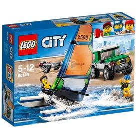 LEGO® City 4x4 terepjáró katamaránnal 60149