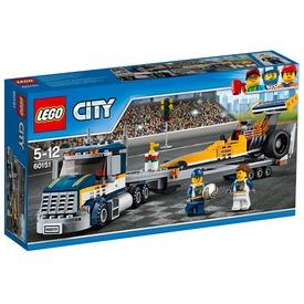 LEGO City Dragster szállító kamion 60151 Itt egy ajánlat található, a bővebben gombra kattintva, további információkat talál a termékről.