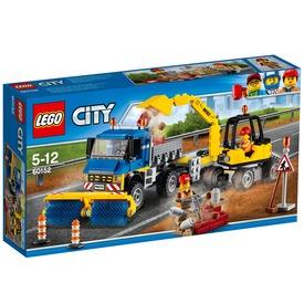 LEGO City Seprőgép és exkavátor 60152 Itt egy ajánlat található, a bővebben gombra kattintva, további információkat talál a termékről.