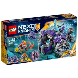LEGO Nexo Knights A három testvér 70350 Itt egy ajánlat található, a bővebben gombra kattintva, további információkat talál a termékről.