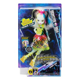 Monster High: Sokkolódva Frankie Stein - 29 cm