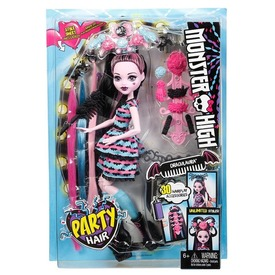 Monster High hajmeresztő Draculaura baba - 29 cm