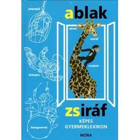 Ablak-Zsiráf képes gyermeklexikon könyv