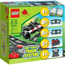 LEGO DUPLO Vasút kiegészítő készlet 10506 Itt egy ajánlat található, a bővebben gombra kattintva, további információkat talál a termékről.