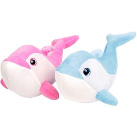 Delfin és rozmár plüssfigura - 35 cm