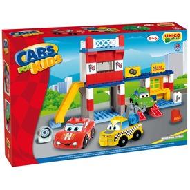 Autóverseny 108 darabos műanyag építőjáték Itt egy ajánlat található, a bővebben gombra kattintva, további információkat talál a termékről.