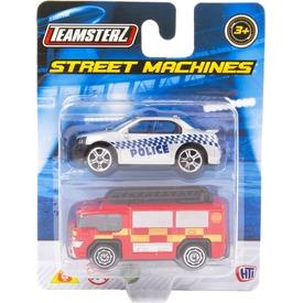Teamsterz autó 2 darabos készlet - 7 cm, többféle