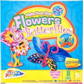 Virág és pillangó 8 darabos papírfigura készítő készlet Itt egy ajánlat található, a bővebben gombra kattintva, további információkat talál a termékről.
