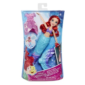 Disney hercegnők Ariel uszonyos baba - 28 cm
