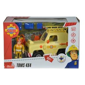 Sam a tűzoltó Tom 4x4 terepjárója figurával
