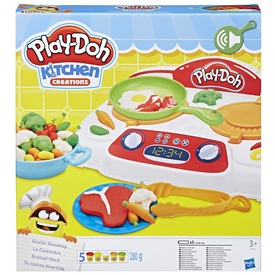 Play-Doh sistergő tűzhely gyurmakészlet