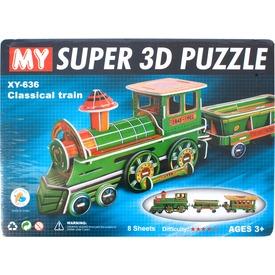 Összerakható vonat 3D puzzle Itt egy ajánlat található, a bővebben gombra kattintva, további információkat talál a termékről.