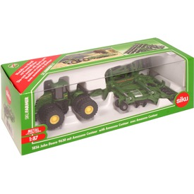 Siku: John Deere 9630 traktor Amazone Centaur utánfutóval 1:87 Itt egy ajánlat található, a bővebben gombra kattintva, további információkat talál a termékről.