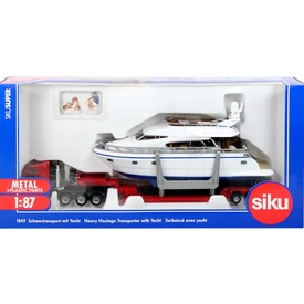 Siku: MAN kamion motoros yacht-tal 1:87 Itt egy ajánlat található, a bővebben gombra kattintva, további információkat talál a termékről.