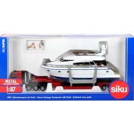 SIKU MAN kamion motoros yacht-tal 1:87 - 1849