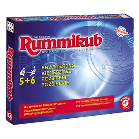 Rummikub 5-6 játékos kieg  Itt egy ajánlat található, a bővebben gombra kattintva, további információkat talál a termékről.