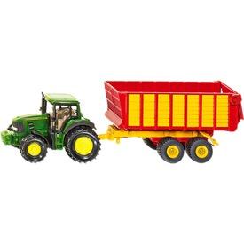 SIKU John Deere traktor pótkocsival 1:55 - 1650