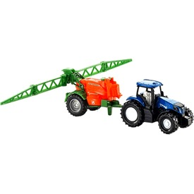 Siku: New Holland traktor permetező utánfutóval 1:87