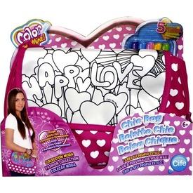 Color Me Mine szíves színezhető party táska Itt egy ajánlat található, a bővebben gombra kattintva, további információkat talál a termékről.