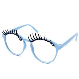 Szempilla party szemüveg - univerzális méret