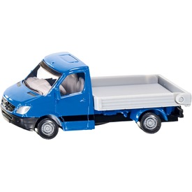 Siku: Mercedes-Benz Sprinter platós teherautó 1:55