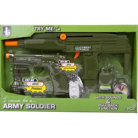 Katonai fegyver 7 darabos készlet